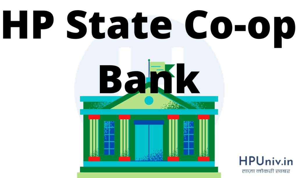HP State Co-op Bank recruitment