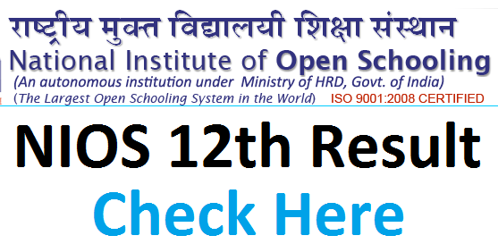 Nios 12th Result 2020 On This Date Arts Commerce Science Name Wise