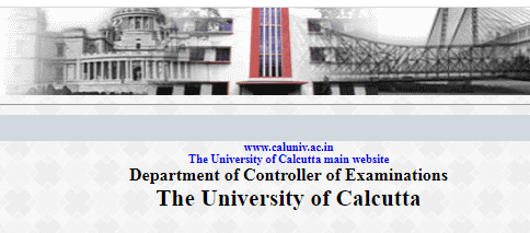 Calcutta university time table