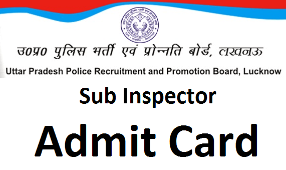 UP Police SI admit card